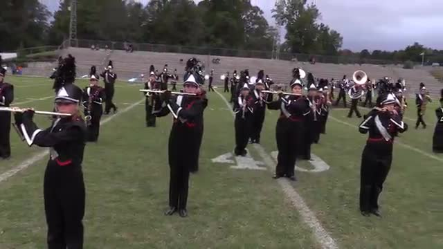 Oak Grove High Band at 2015 Pirate Classic MBF in Winfield, Alabama