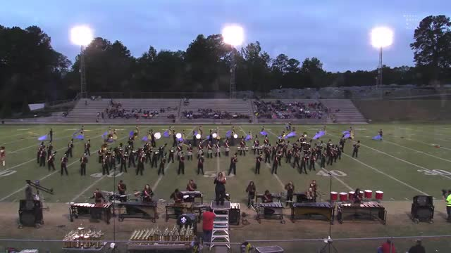 Russellville High Band at 2015 Pirate Classic MBF in Winfield, Alabama