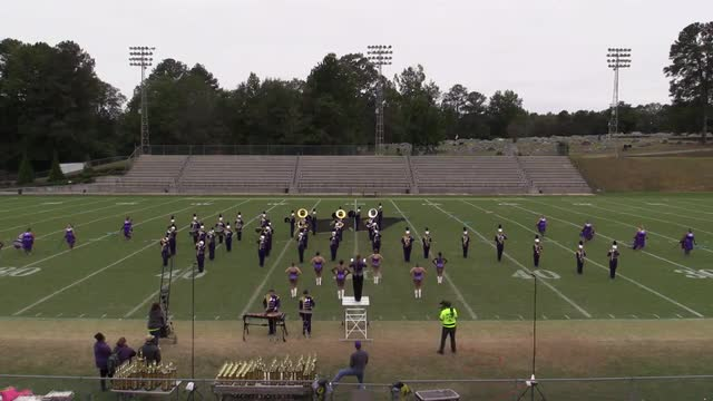 Sheffield High Band at 2015 Pirate Classic MBF in Winfield, Alabama