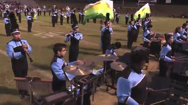 Spain Park High Band at 2015 Pirate Classic MBF in Winfield, Alabama