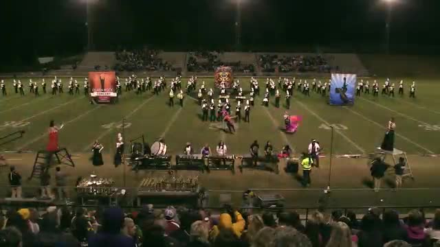 Starkville High Band at 2015 Pirate Classic MBF in Winfield, Alabama