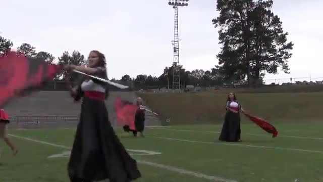 Deshler High Band at 2015 Pirate Classic MBF in Winfield, Alabama