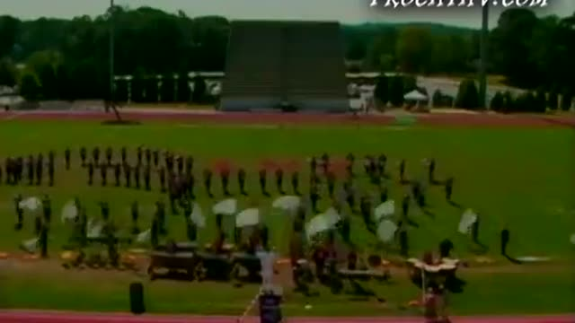 Paulding County High Band at 2005 Lassiter Marching Band Showcase in Marietta, Georgia