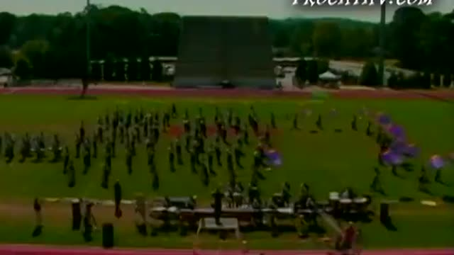 Wheeler High Band at 2005 Lassiter Marching Band Showcase in Marietta, Georgia