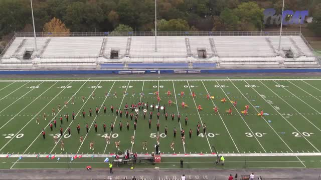 Brooks High Band at 2015 Pride of Dixie MBF in Florence, Alabama