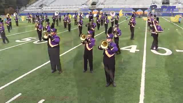 Hueytown High Band at 2015 Pride of Dixie MBF in Florence, Alabama