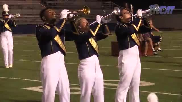 Buckhorn High Band at 2015 Pride of Dixie MBF in Florence, Alabama