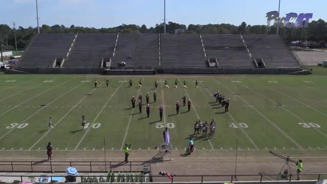 Abbeville High Band at 2015 Southern Showcase MBF in Dothan, Alabama