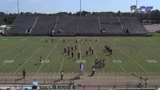 Abbeville High Band at 2015 Southern Showcase MBF in Dothan, Alabama