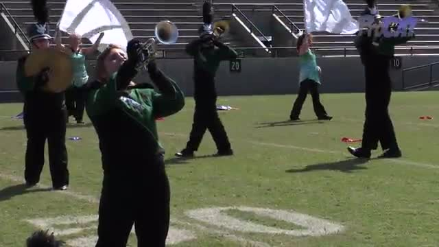 South Walton High Band at 2015 Southern Showcase MBF in Dothan, Alabama