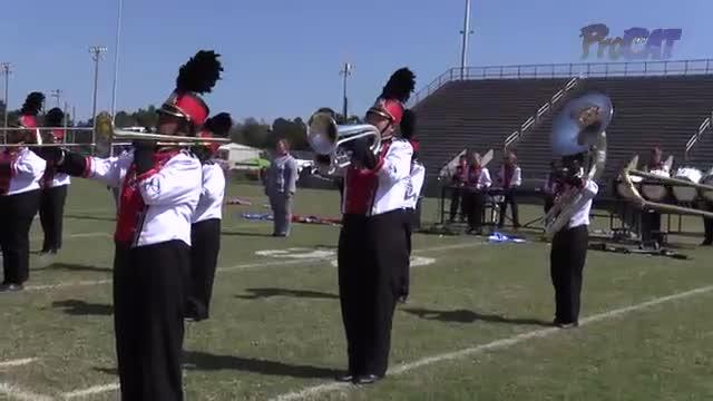 Cottonwood High Band at 2015 Southern Showcase MBF in Dothan, Alabama
