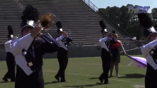Walton High Band at 2015 Southern Showcase MBF in Dothan, Alabama