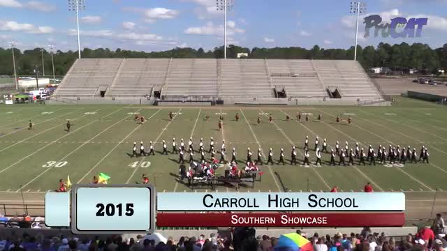 Carroll High Band at 2015 Southern Showcase MBF in Dothan, Alabama