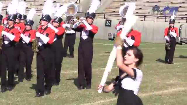 McGill Toolen High Band at 2015 Southern Showcase MBF in Dothan, Alabama