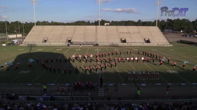 Baldwin County High Band at 2015 Southern Showcase MBF in Dothan, Alabama