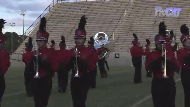 Dothan High Band at 2015 Southern Showcase MBF in Dothan, Alabama