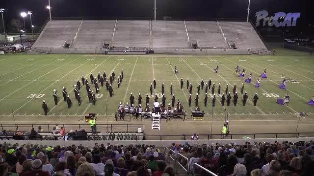 Northview High Band at 2015 Southern Showcase MBF in Dothan, Alabama