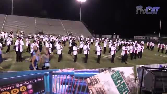 Lowndes High Band at 2015 Southern Showcase MBF in Dothan, Alabama