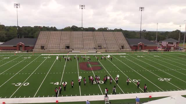 Jordan High Band at 2015 Phenix Invitational MBF in Phenix City, Alabama WIDE ANGLE ONLY