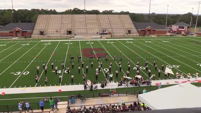 Alabama Christian Academy High Band at 2015 Phenix Invitational MBF in Phenix City, Alabama WIDE ANGLE ONLY