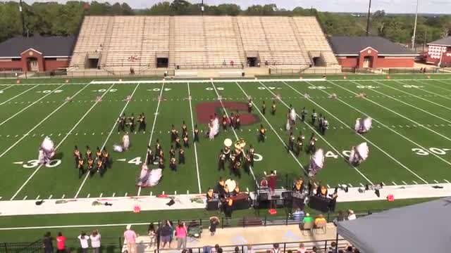 Harris County High Band at 2015 Phenix Invitational MBF in Phenix City, Alabama WIDE ANGLE ONLY