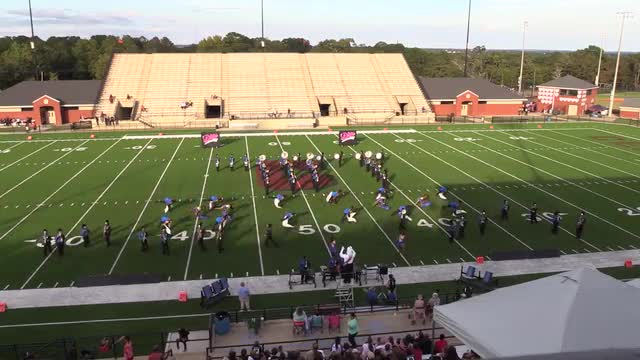Americus Sumter High Band at 2015 Phenix Invitational MBF in Phenix City, Alabama WIDE ANGLE ONLY