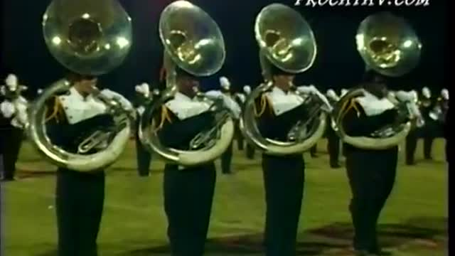 Davidson High Band at Pride of the Valley 2003 in Pinson, AL
