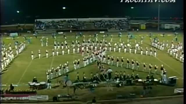 Crestview High Band at Pride of the Valley 2003 in Pinson, AL
