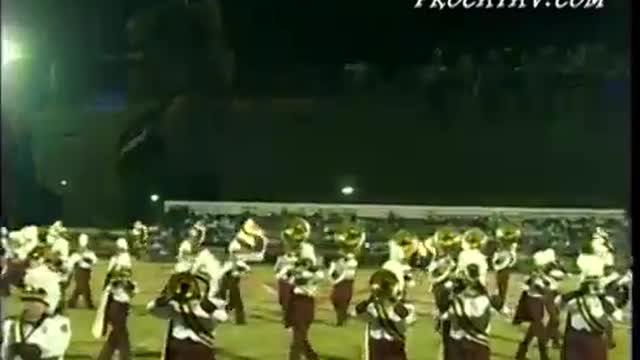 Pinson Valley High Band at Pride of the Valley 2003 in Pinson, AL