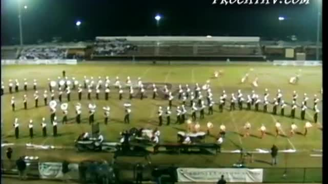 Shades Valley High Band at Pride of the Valley 2007 in Pinson, AL