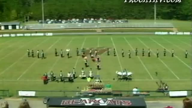 Ashville High Band at 2011 Dixie Jubilee Jam in Weaver, Alabama