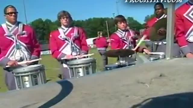 Munford High Band at 2011 Dixie Jubilee Jam in Weaver, Alabama