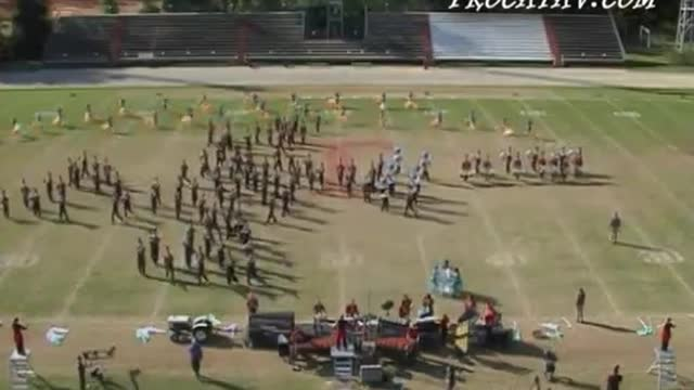 Harrison Central High Band at 2006 Gulf Coast Showcase of Champions MBF in Tate, Florida