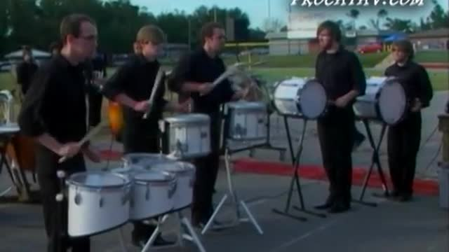 University of Mobile RamCorps Band at 2009 Gulf Coast Showcase of Champions MBF in Pensacola, Florida