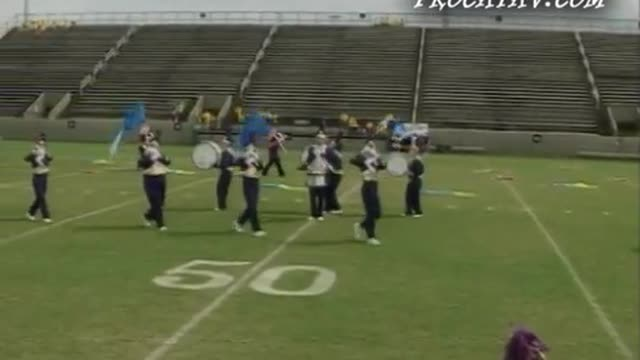 Geneva High Band at  2009 Southern Showcase MBF in Dothan, Alabama