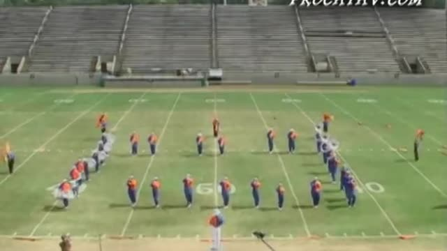 Freeport High Band at 2009 Southern Showcase MBF in Dothan, Alabama