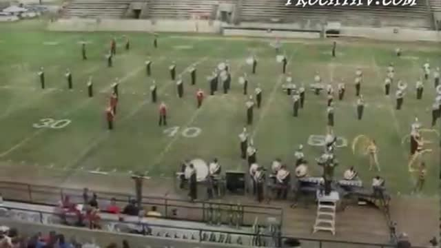 Northview High Band at 2009 Southern Showcase MBF in Dothan, Alabama
