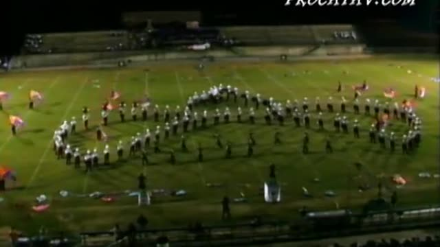 Pinson Valley High Band at Jefferson County Jamboree 2008 in Irondale, AL