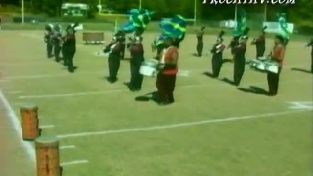 Choctaw Central High Band at West AL MBF 2008 in Gordo, AL