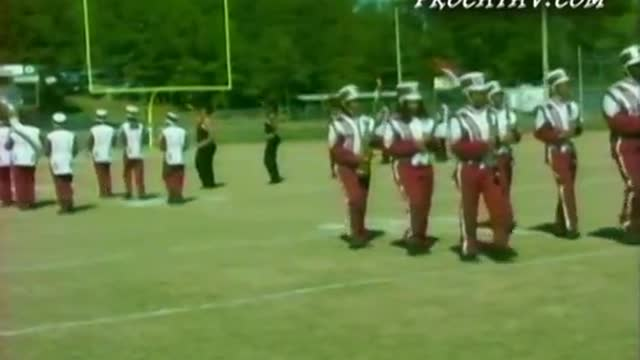 Okolona High Band at West AL MBF 2008 in Gordo, AL