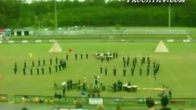 Jacksonville High Band at 2008 Dixie Jubilee MBF in Weaver, Alabama