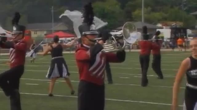 Plainview High Band at 2008 Mid South MBF in Gadsden, Alabama