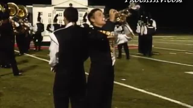 Colquitt County High Band at 2008 Georgia Bandmasters Festival and Championships  in Cummings, Georgia