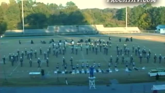 Calera High Band at West AL MBF 2008 in Gordo, AL