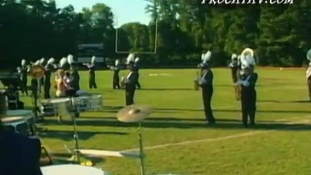 Marietta High Band at 2008 Southern Invitational in Sprayberry, GA