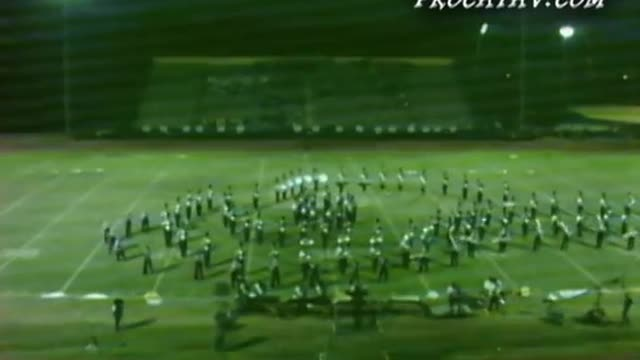 Woodland High Band at 2008 Southern Invitational in Sprayberry, GA