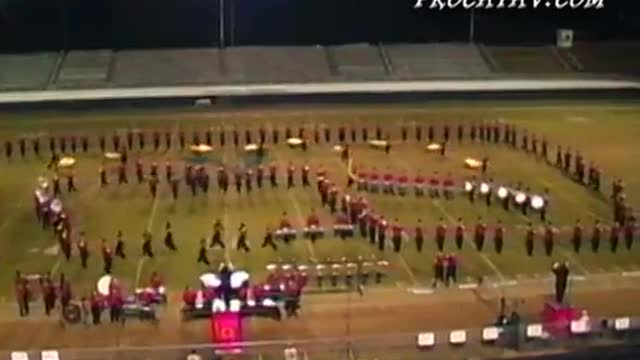 Rome High Band at 2009 Old South Marching Festival in Newnan, GA