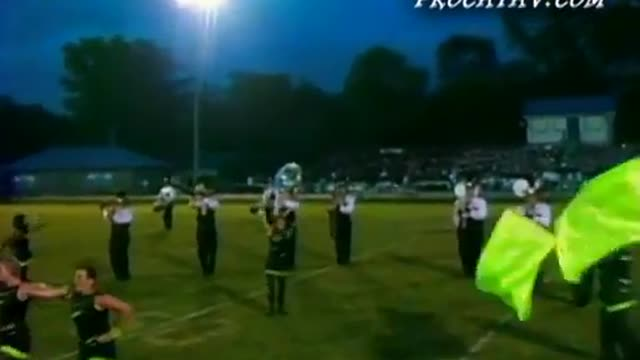 Vincent High Band at 2009 Shelby County Showcase in Calera, AL
