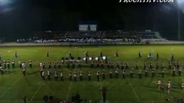 Shelby County High Band at 2009 Shelby County Showcase in Calera, AL