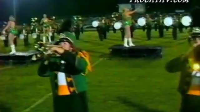 Pelham High Band at 2009 Shelby County Showcase in Calera, AL